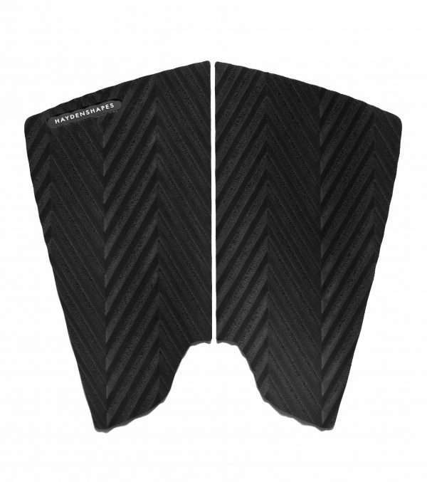 Haydenshapes Two Piece Traction - Split Fish Swallow - Black